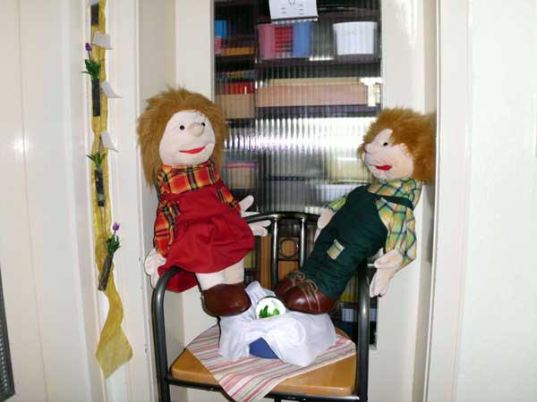 Pauli und Kisch erwarten Besuch!